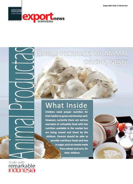 Edible products of animals