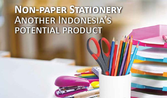 Non-paper stationery